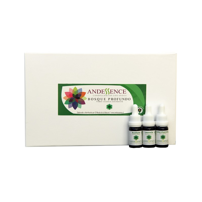 Kit 34 Esencias Andessence Bosque Profundo 10 ml